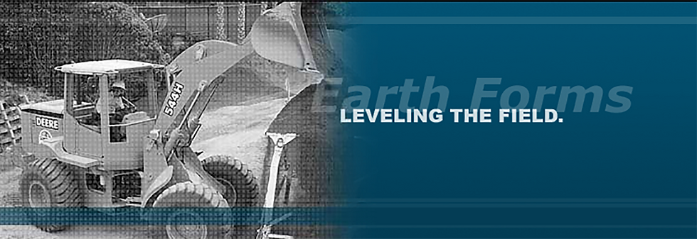 Earth Forms: Leveling the Field