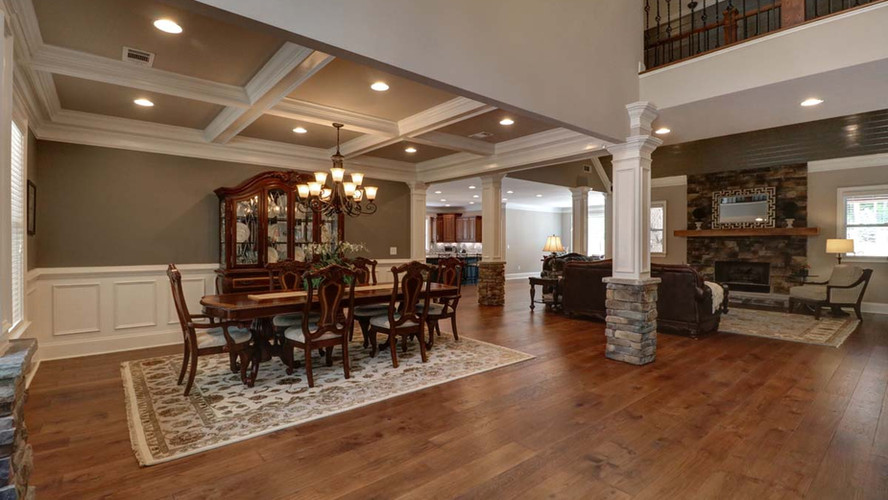 The Ashley: Huge Living Space