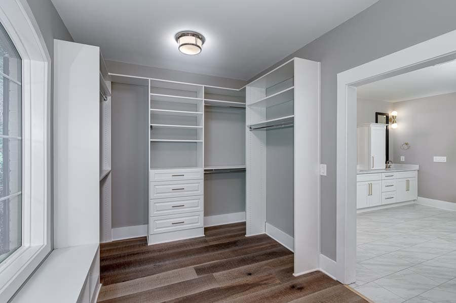 Charline Avenue: Custom Master Closet