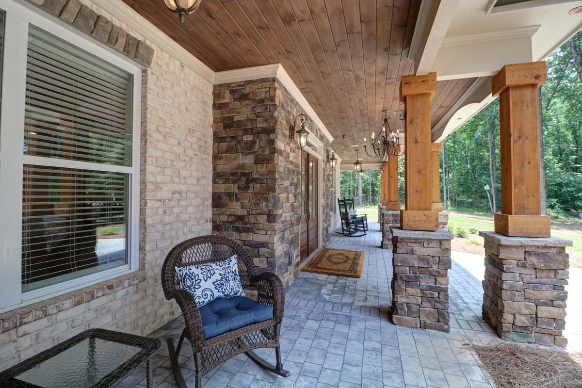 The Ashley: Front Porch
