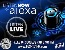 Faces of Success Radio Now On Alexa