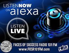 Faces of Success Radio Now On Alexa