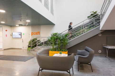 Posti Group - Lajittelukeskuksen aula, Tampere