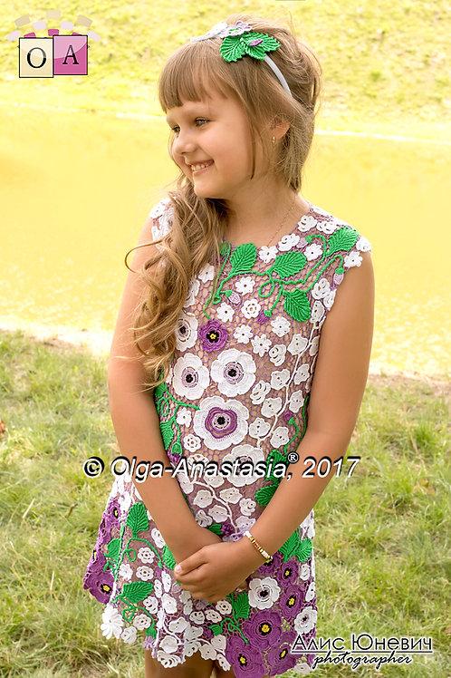 Платье Москвичка
