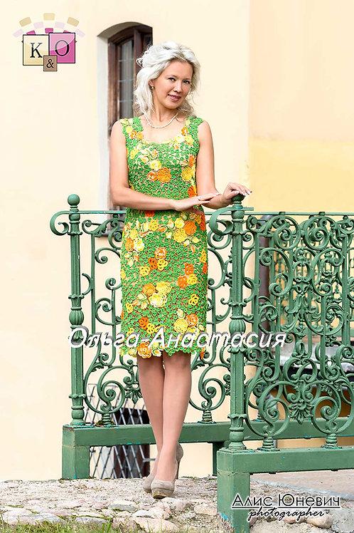 Платье Август