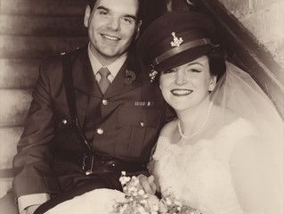 1940's themed wedding - great day, great couple!