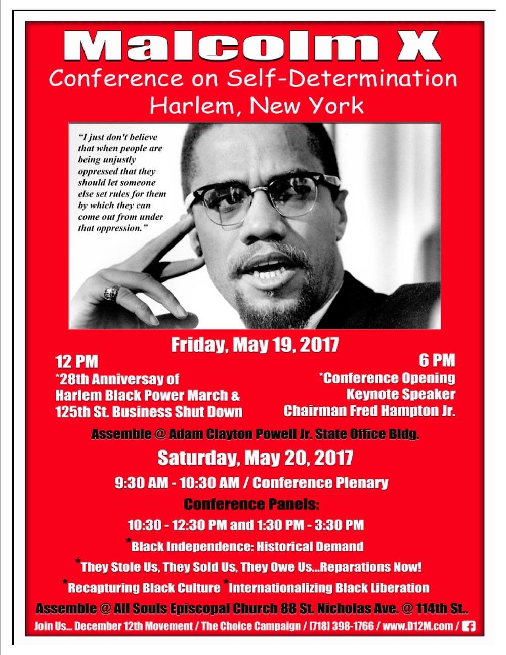 National Black United Front Malcolm X