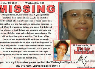 National Black United Front National Statement on Missing Black Children in Washington DC and Across