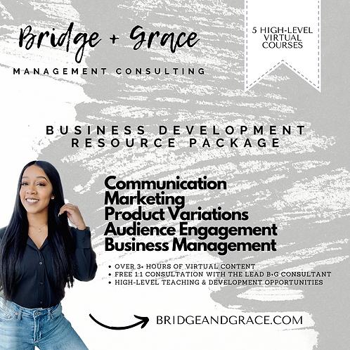 Business Development Resource Package