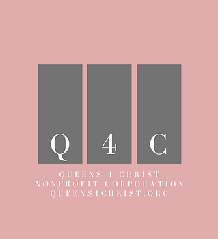 Official Queens 4 Christ Logo Brand w-We