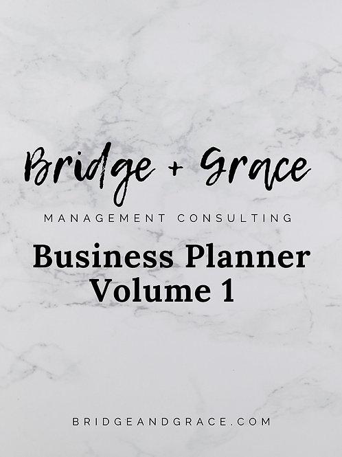 Business Planner - Volume 1