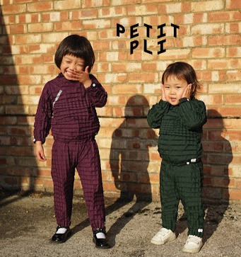 Children wearing Petit Pli Designs