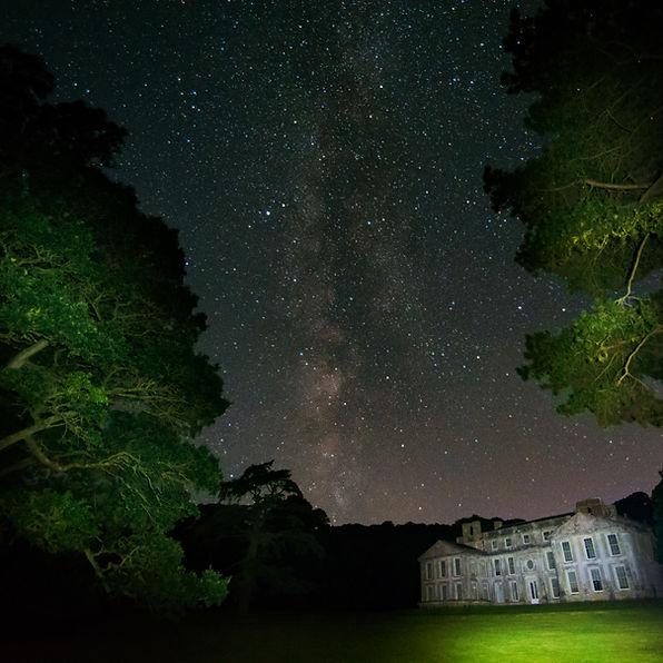 The Milky Way at Appledurcombe House