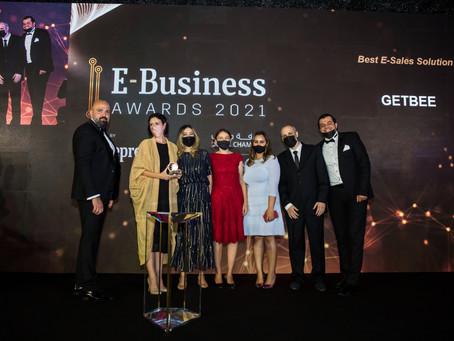 GetBEE Wins Entrepreneur ME E-Business Awards 2021