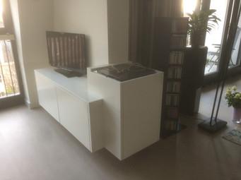 Maatwerk HiFi meubel
