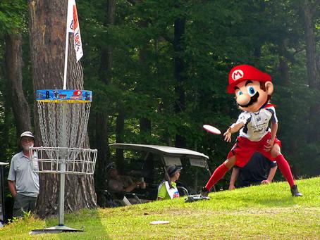 Mario's Next Sports Venture Should Be Disc Golf