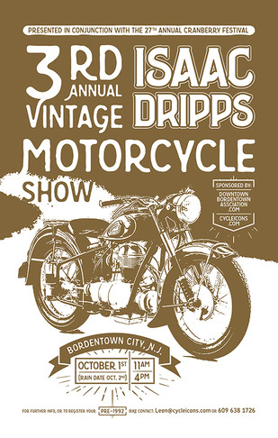 3rd Annual Isaac Dripps Vintage Motorcyc