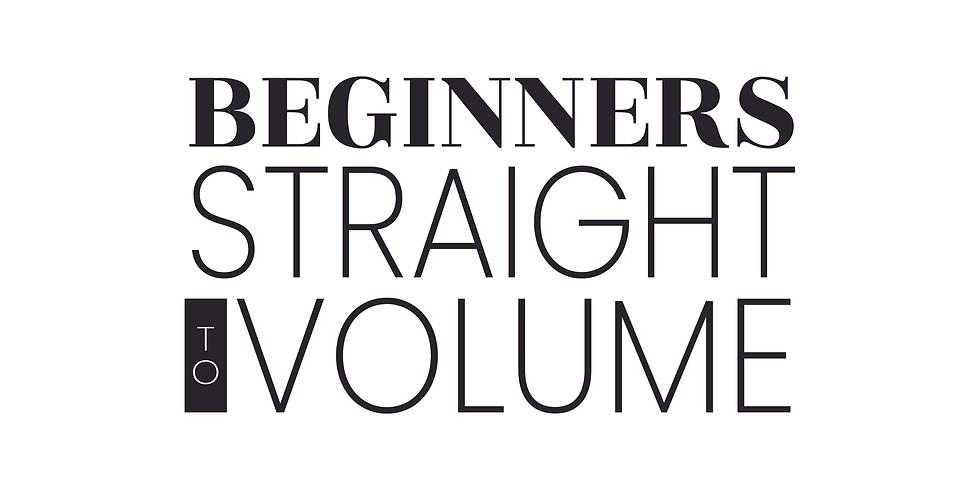 Straight to Volume | 3 Day
