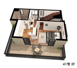 기흥 타운하우스 주택 평면도그리기