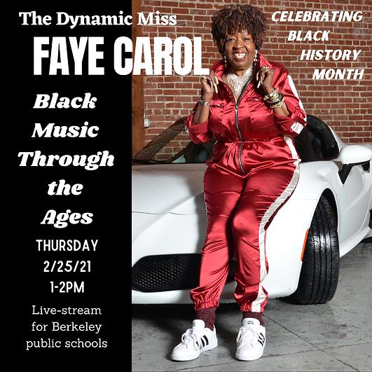The Dynamic Miss Faye Carol Black Music