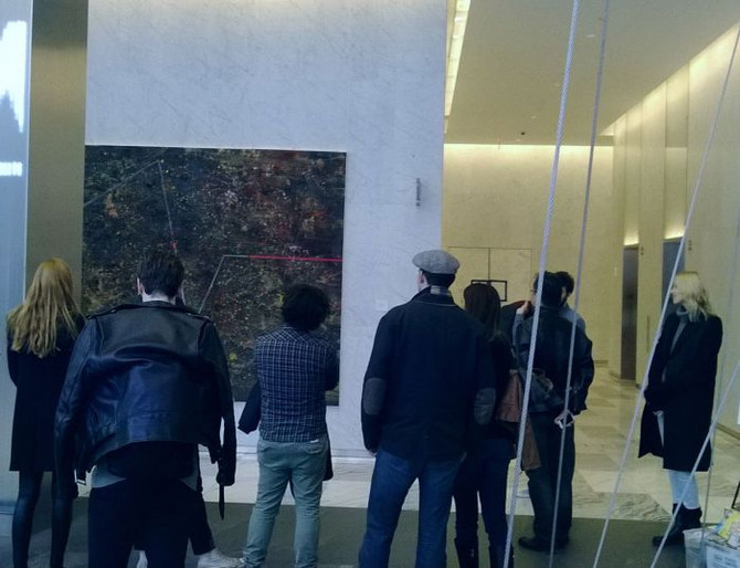 The private viewings of MILJAN SUKNOVIC's exhibition at The World Trade Center