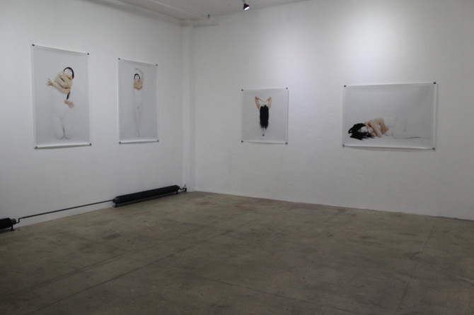 This is what the exhibition Multifaceted by Ahn Sun Mi looks like