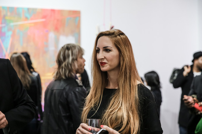 Photos from the opening of Constellations III