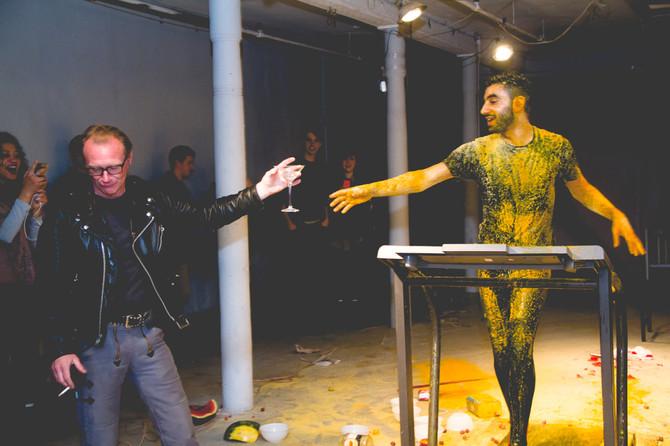 Mehdi-Georges Lahlou's live performance at Grace Exhibition Space