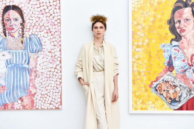 Rebecca Dayan and Tali Lennox listed as one to watch at Art Basel Miami