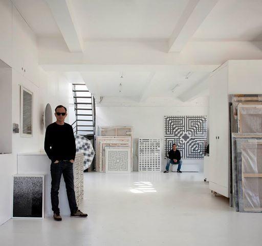 TANC's and L'ATLAS' VAO studio in Les Lilas in Paris.
