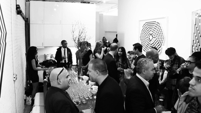 The evening of L'ATLAS opening