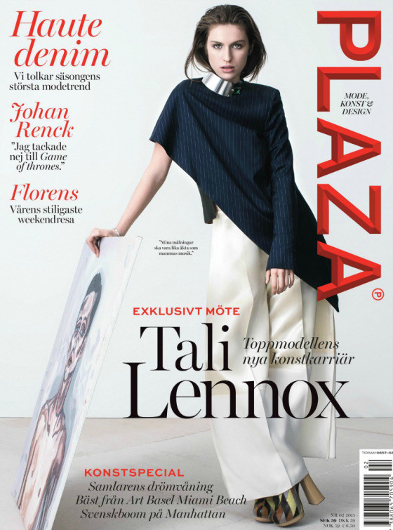 TALI LENNOX on the cover