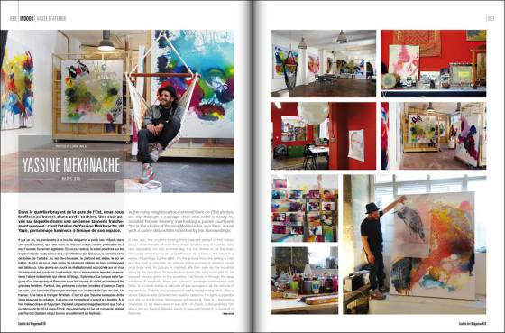 Graffiti Art Magazine featuring Yassine Mekhnache