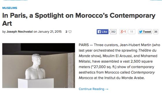 Mehdi-Georges Lahlou at the Institut du Monde Arab