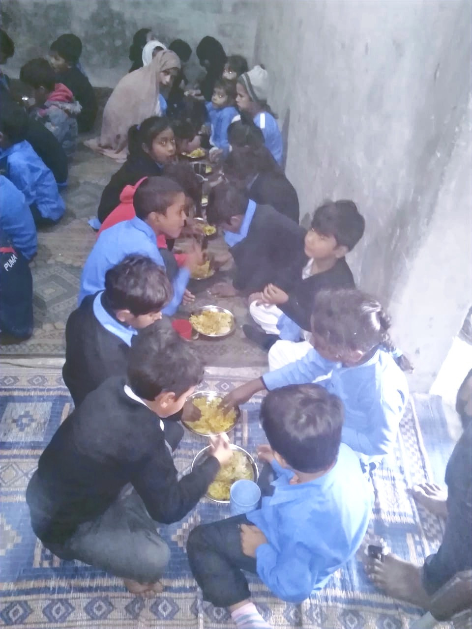 One Ummah delivers books, uniforms, shoes, and nutritious food to give students an opportunity to learn.