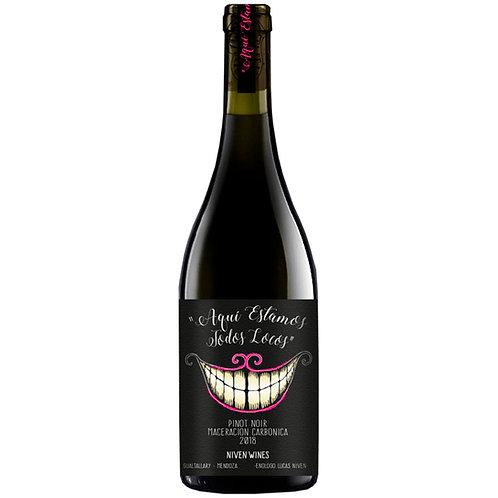 Aquí estamos todos Locos Pinot Noir