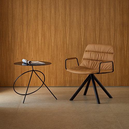 Maarten Lounge Chair (Swivel Base - Soft )