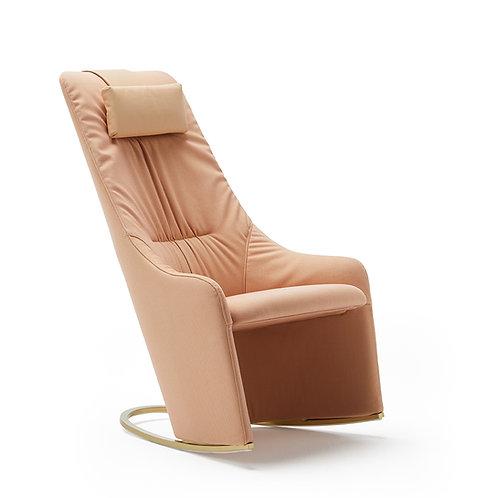 Nagi High Rocking Armchair