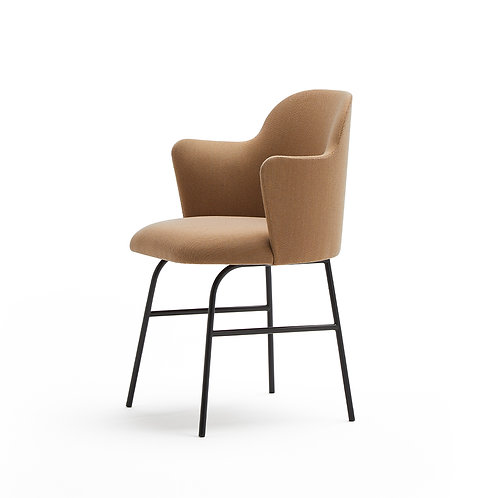 Aleta Chair (Metal base & armsrest)