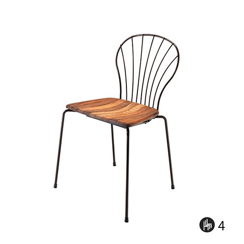 Flint 535-B (Iroko wood)
