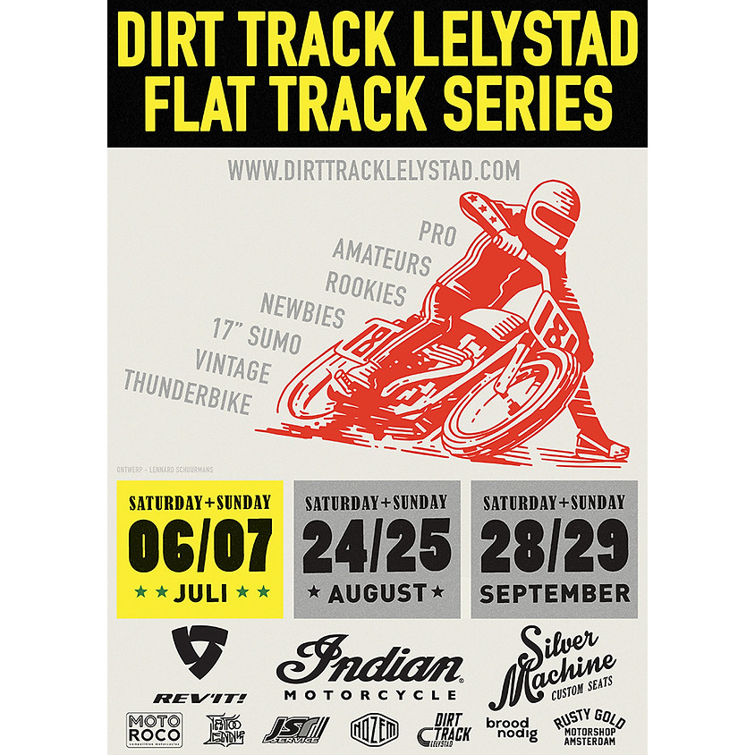 FLAT TRACK SERIES AUGUST 24-25