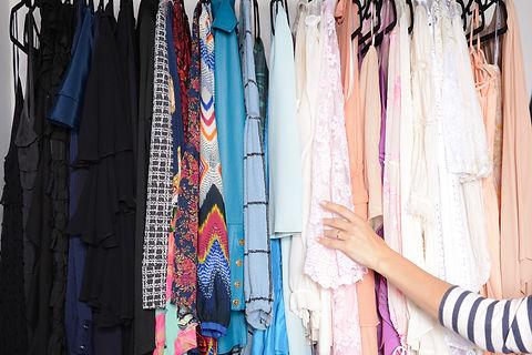 Closet Cleaning e Montagem de Looks