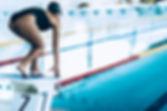 Trampolino in piscina coperta Calypso