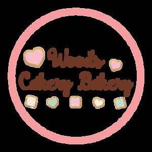 Woods Cakery Bakery Round Logo