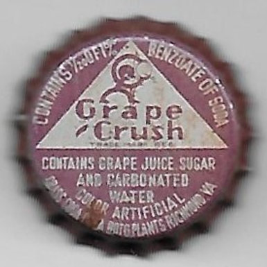 CRUSH GRAPE, RICHMOND, VIRGINIA