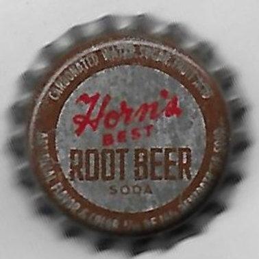HORN'S BEST ROOT BEER