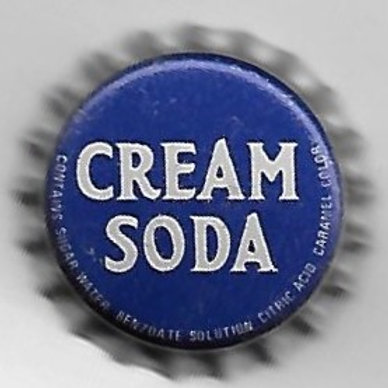 CREAM SODA 8, 7-Up Bot'g. Co., Hagerstown, MD