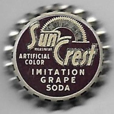 SUN CREST IMITATION GRAPE SODA,