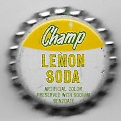 CHAMP LEMON SODA