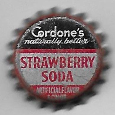 CORDONE'S STRAWBERRY SODA